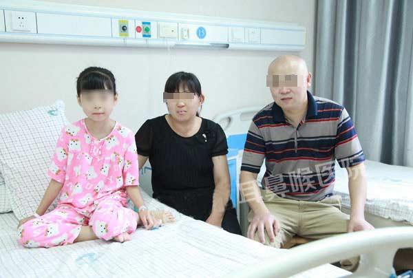 腺样体肥大合并慢性扁桃体炎患儿手术案例