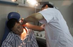 耳廓骨膜炎有积液怎么治疗