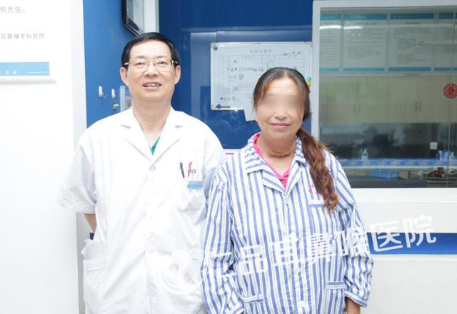 南京仁品医院如何 咽炎多年隐藏甲状腺囊肿