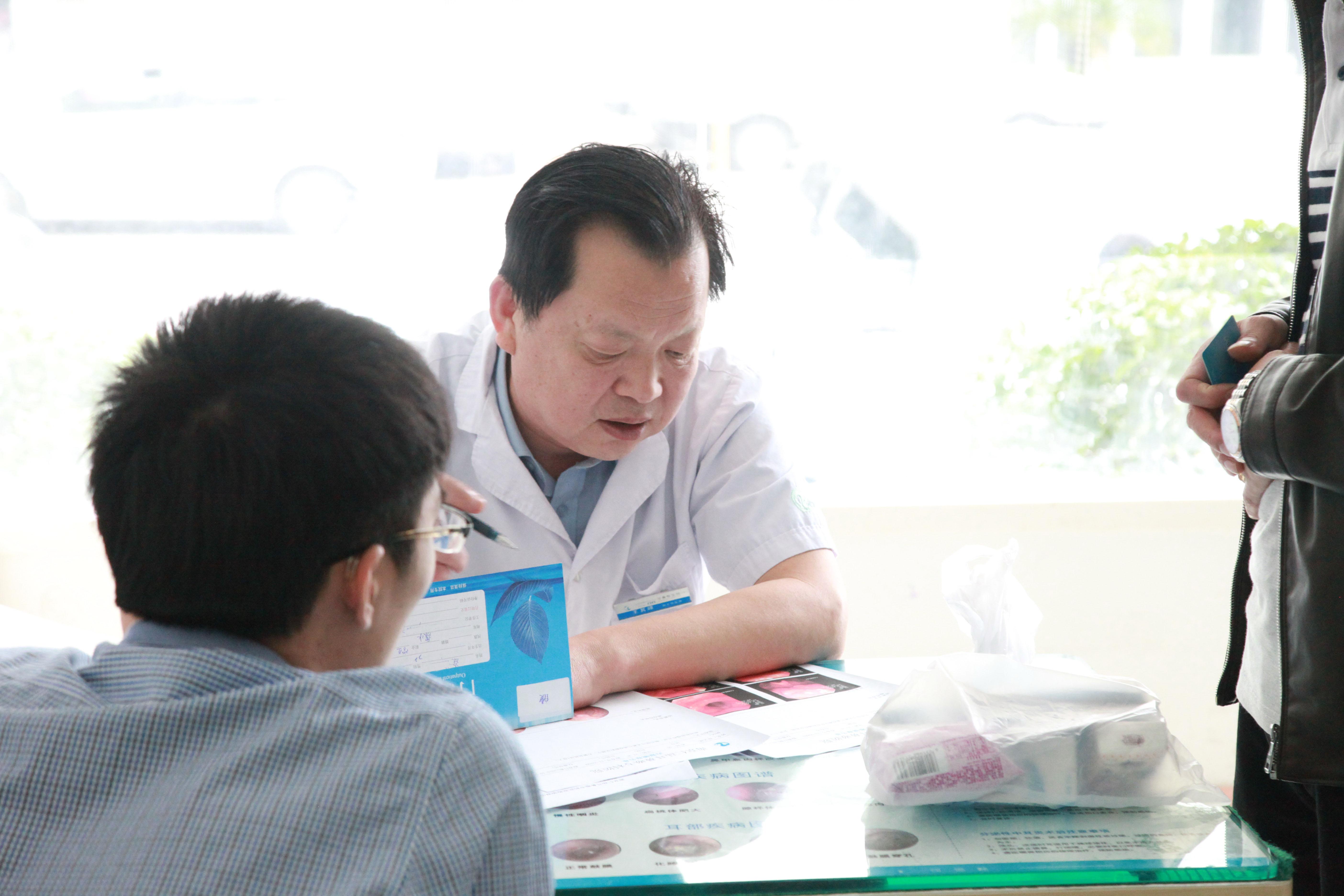 南京仁品耳鼻喉医院王其峰主任为患者涂欢分析检查报告